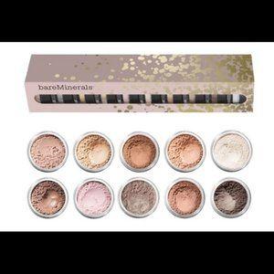 Bare Minerals 10 Piece Eyeshadow Set
